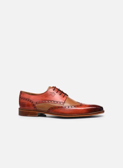 Chaussures à lacets Melvin & Hamilton Martin 15 Rouge vue derrière