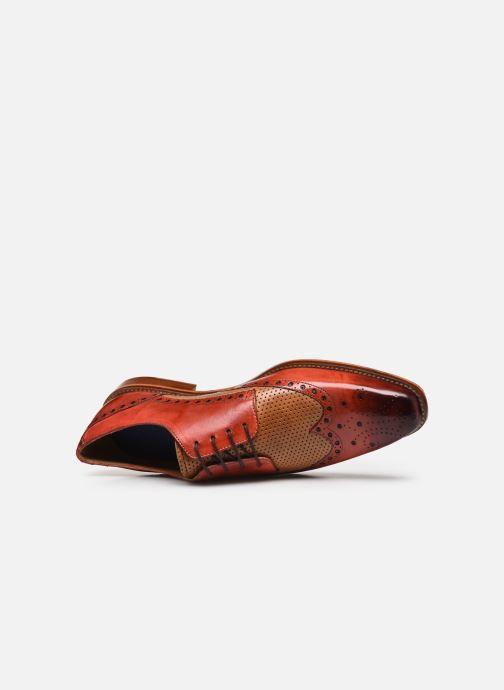 Zapatos con cordones Melvin & Hamilton Martin 15 Rojo vista lateral izquierda
