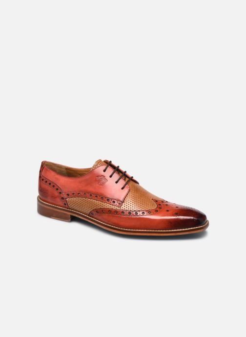 Zapatos con cordones Melvin & Hamilton Martin 15 Rojo vista de detalle / par
