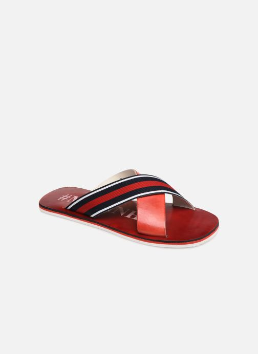 Sandals Melvin & Hamilton Sam 5 Red detailed view/ Pair view
