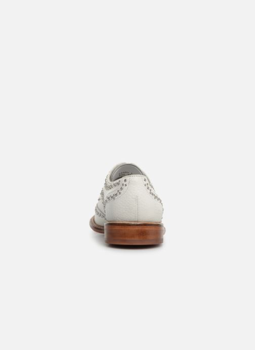 Lace-up shoes Melvin & Hamilton Sandy 1 White view from the right