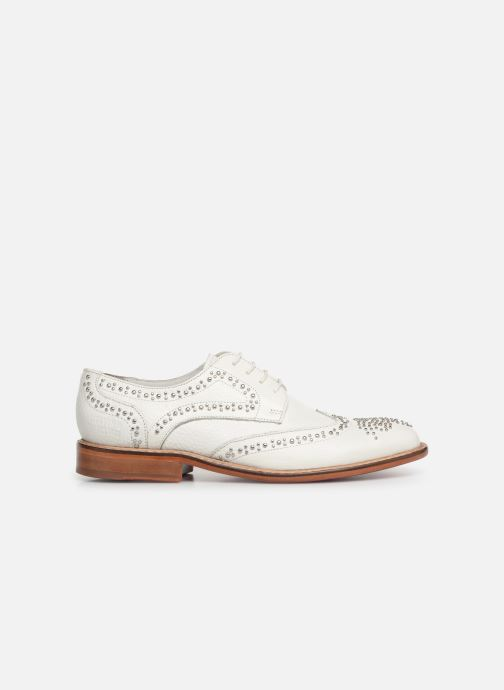 Lace-up shoes Melvin & Hamilton Sandy 1 White back view