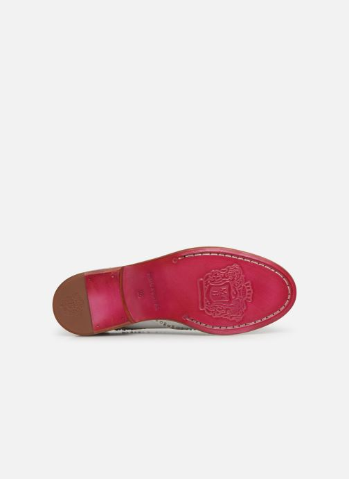 Chaussures à lacets Melvin & Hamilton Sandy 1 Blanc vue haut