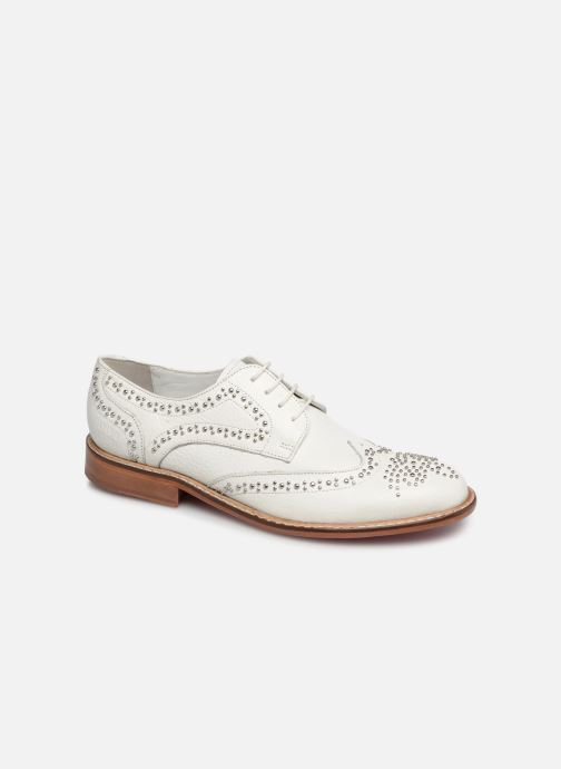 Lace-up shoes Melvin & Hamilton Sandy 1 White detailed view/ Pair view