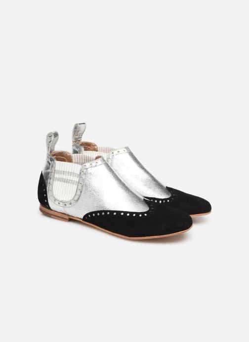 Ankle boots Melvin & Hamilton Sonia 3 Silver 3/4 view