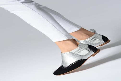 Ankle boots Melvin & Hamilton Sonia 3 Silver view from underneath / model view