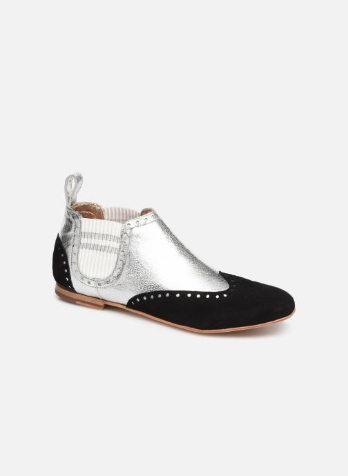 Ankle boots Melvin & Hamilton Sonia 3 Silver detailed view/ Pair view