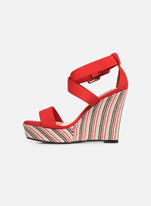Sandales et nu-pieds Pepe jeans Ohara Smart Rouge vue face