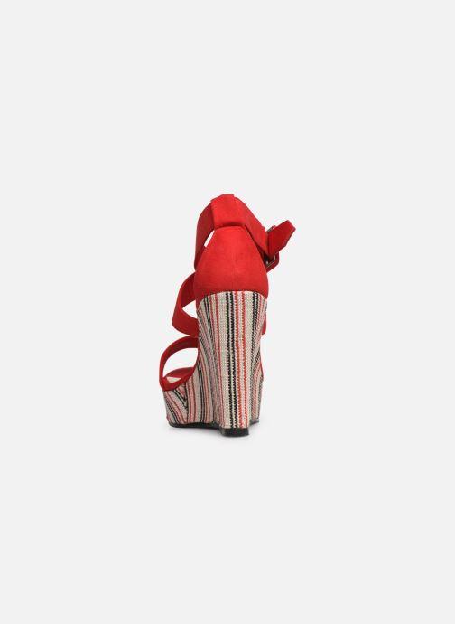 Sandales et nu-pieds Pepe jeans Ohara Smart Rouge vue droite