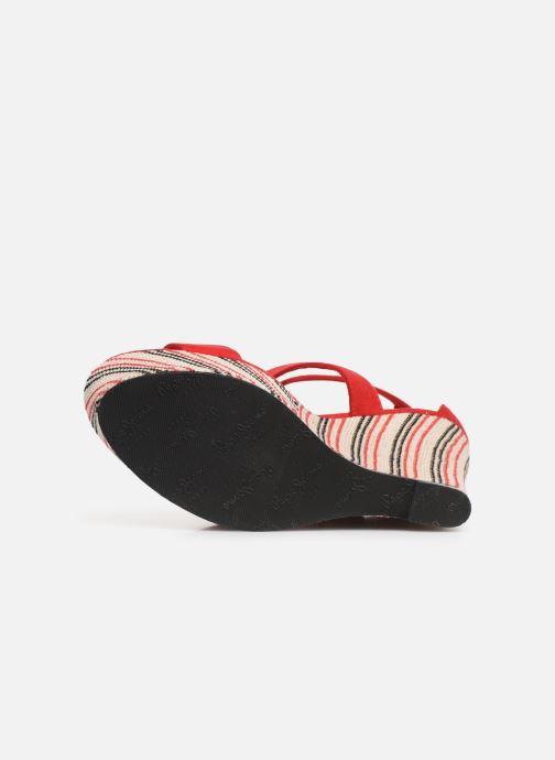 Sandales et nu-pieds Pepe jeans Ohara Smart Rouge vue haut