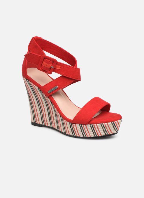 Sandales et nu-pieds Pepe jeans Ohara Smart Rouge vue détail/paire