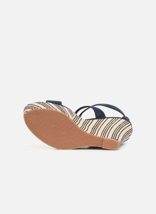 Sandales et nu-pieds Pepe jeans Ohara Smart Bleu vue haut