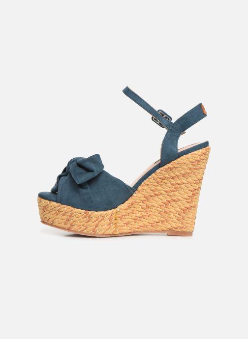 Sandales et nu-pieds Pepe jeans Ohara Natural Bleu vue face