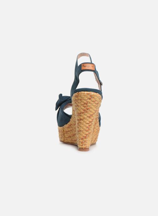 Sandales et nu-pieds Pepe jeans Ohara Natural Bleu vue droite