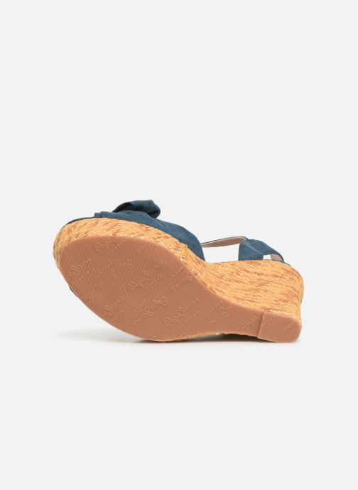 Sandales et nu-pieds Pepe jeans Ohara Natural Bleu vue haut