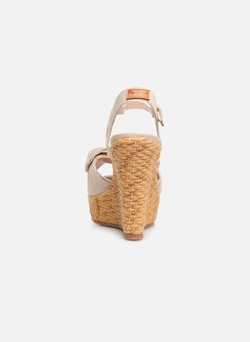 Sandalen Natural beige Jeans Pepe 358810 Ohara w4nvTIxqP