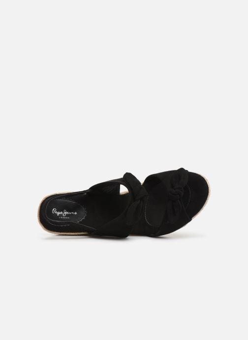 Sandales et nu-pieds Pepe jeans Shark Honey Noir vue gauche