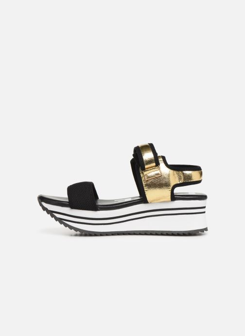 Sandals Pepe jeans Fuji Metal Bronze and Gold front view