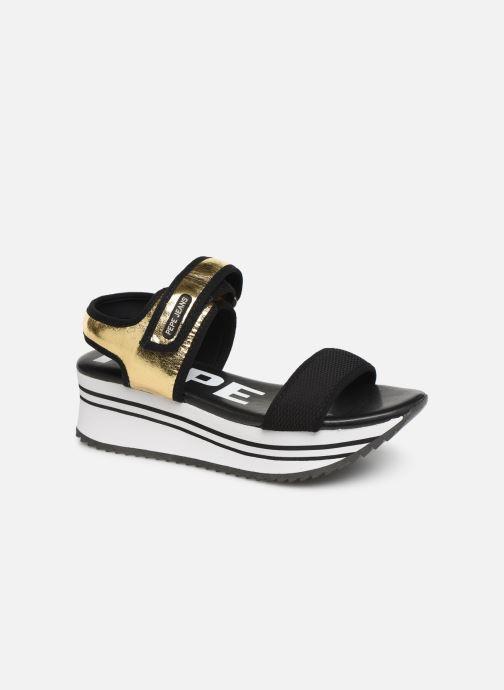 Sandales et nu-pieds Pepe jeans Fuji Metal Or et bronze vue détail/paire