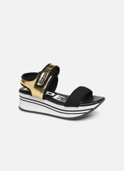 Sandals Pepe jeans Fuji Metal Bronze and Gold detailed view/ Pair view