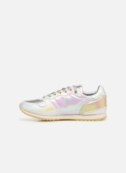 Sneakers Pepe jeans Gable Reflect Mad Zilver voorkant