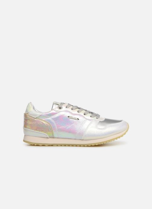 Sneakers Pepe jeans Gable Reflect Mad Zilver achterkant