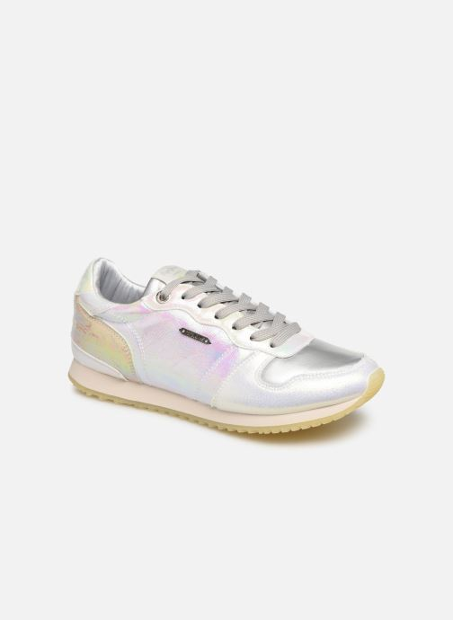 Sneakers Pepe jeans Gable Reflect Mad Zilver detail