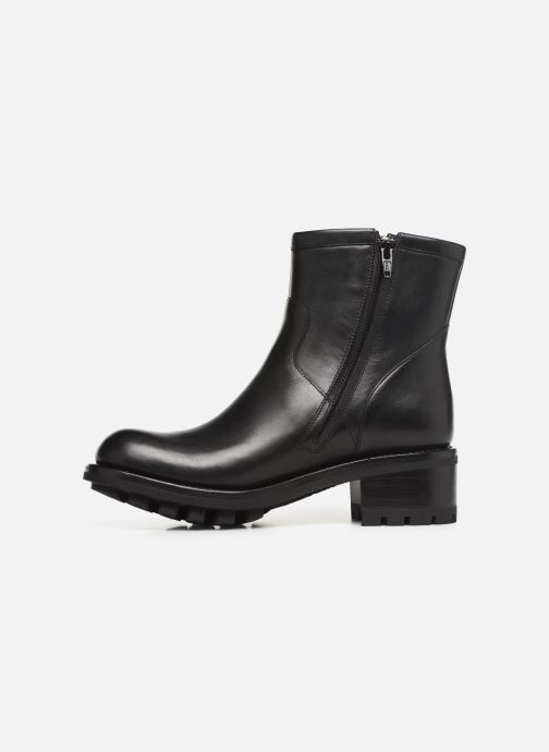 Bottines et boots Free Lance Justy 4 Small Gero Buckle Noir vue face