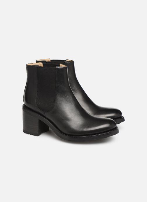 Bottines et boots Free Lance Daytona 7 Chelsea Boot Noir vue 3/4