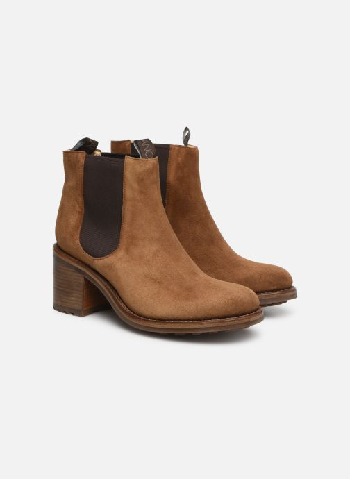 Bottines et boots Free Lance Daytona 7 Chelsea Boot Marron vue 3/4