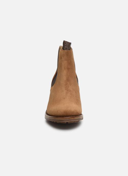 Bottines et boots Free Lance Daytona 7 Chelsea Boot Marron vue portées chaussures