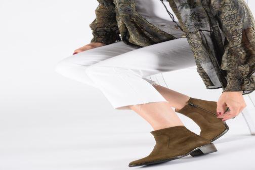 Bottines et boots Free Lance Lime 5 Zip Boot Beige vue bas / vue portée sac