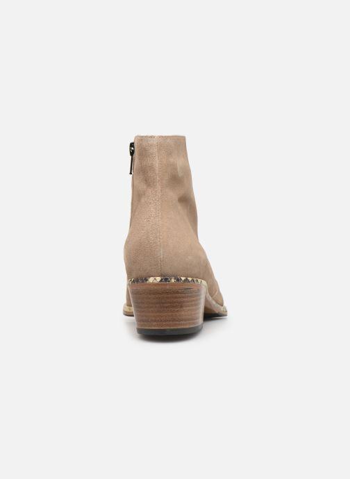 Bottines et boots Free Lance Lime 5 Zip Boot Beige vue droite