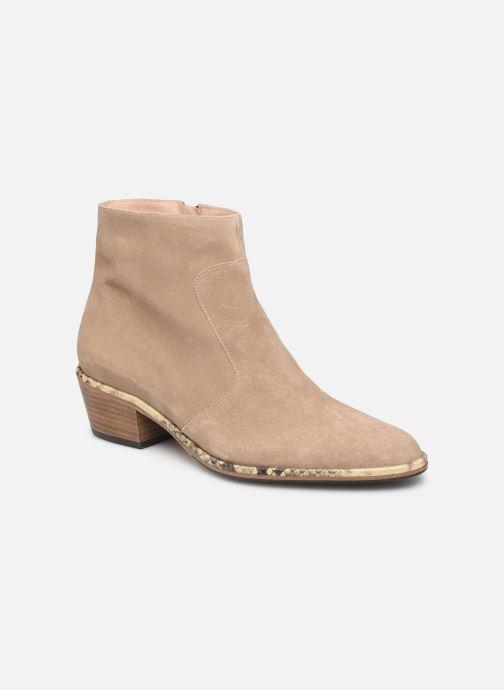 Bottines et boots Free Lance Lime 5 Zip Boot Beige vue détail/paire