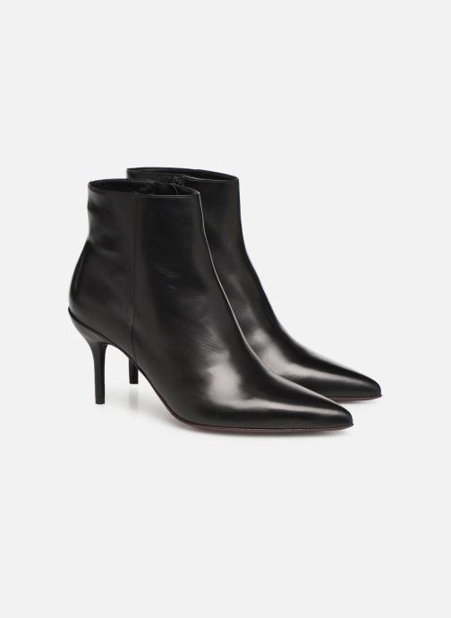 Bottines et boots Free Lance Jonie 7 Zip Boot Noir vue 3/4