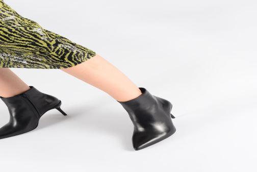 Bottines et boots Free Lance Jonie 7 Zip Boot Noir vue bas / vue portée sac