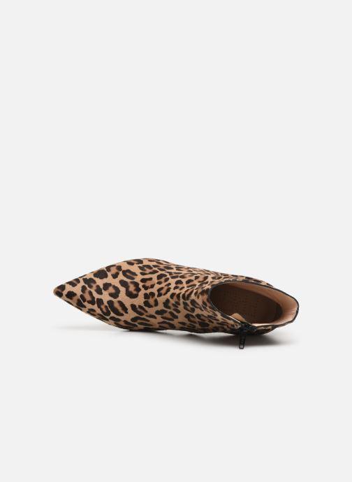 Stiefeletten & Boots Free Lance Jonie 7 Animal Zip Boot beige ansicht von links