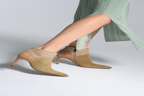 Stiefeletten & Boots Free Lance Forel 7 Low Zip Boot beige ansicht von unten / tasche getragen