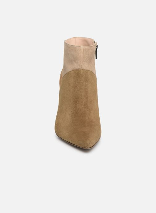 Stiefeletten & Boots Free Lance Forel 7 Low Zip Boot beige schuhe getragen