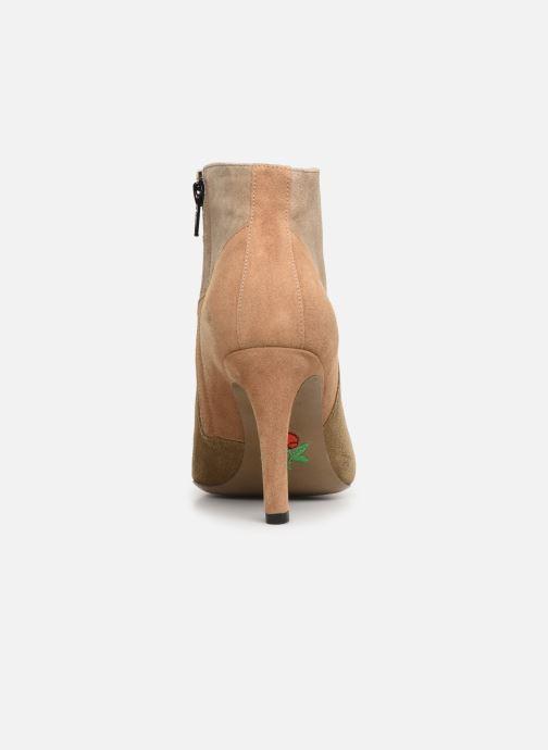 Botines  Free Lance Forel 7 Low Zip Boot Beige vista lateral derecha