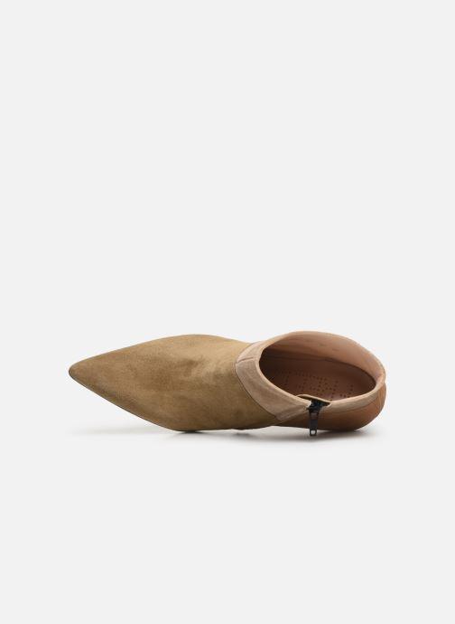 Stiefeletten & Boots Free Lance Forel 7 Low Zip Boot beige ansicht von links