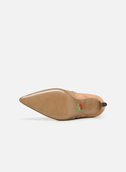 Stiefeletten & Boots Free Lance Forel 7 Low Zip Boot beige ansicht von oben