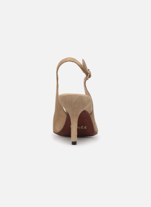 High heels Free Lance Jonie 7 Slingback Pump Beige view from the right