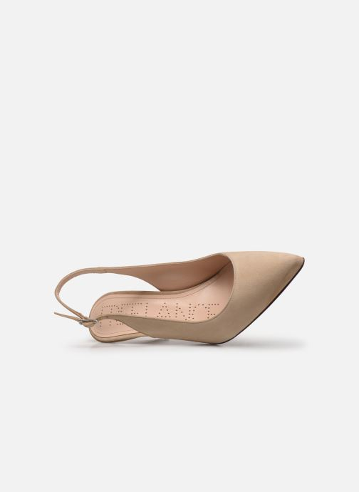High heels Free Lance Jonie 7 Slingback Pump Beige view from the left