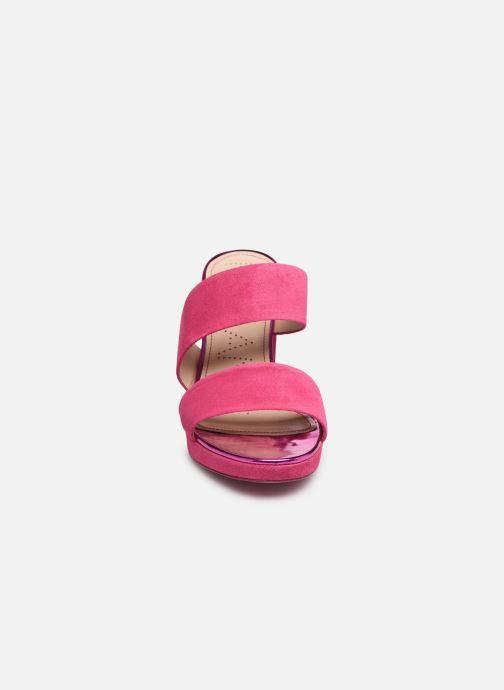Mules et sabots Free Lance Elisa 4 Asymetric Mule Rose vue portées chaussures