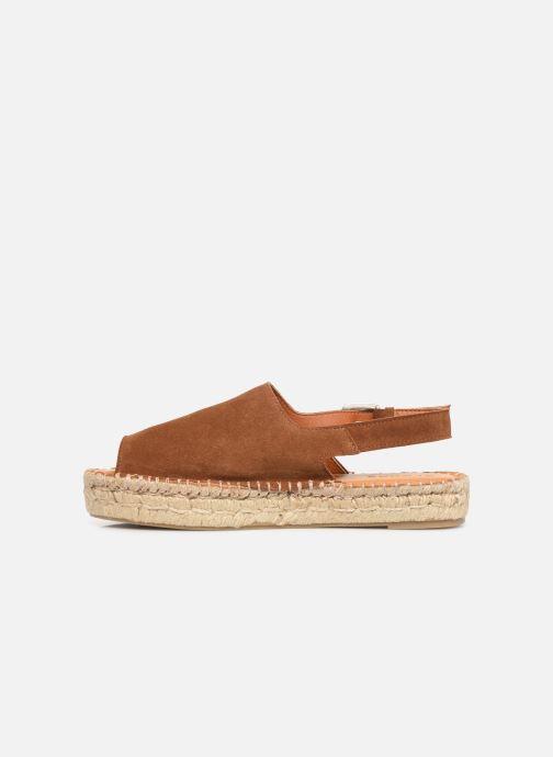 Sandalen Alohas Sandals Back strap Bruin voorkant
