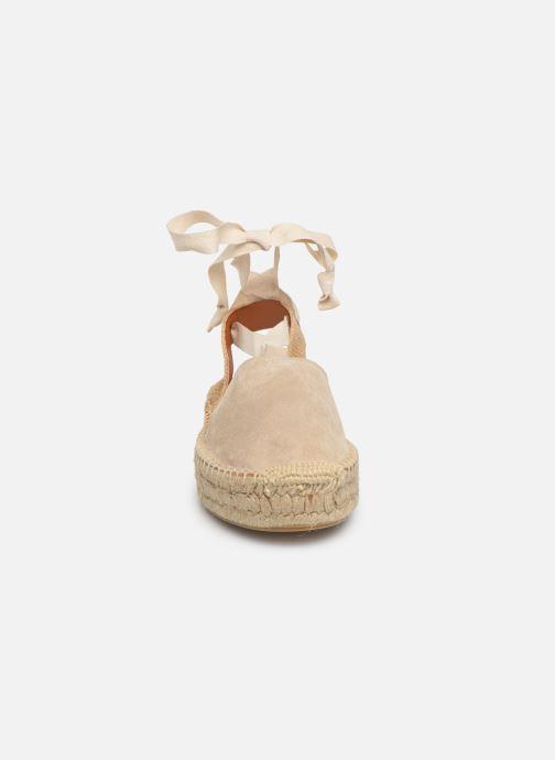 Taupe Sandals Nu Et Sandales Alohas Cristinas pieds 34LRjqc5A