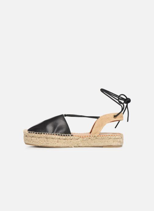 Sandalen Alohas Sandals Cristinas Zwart voorkant
