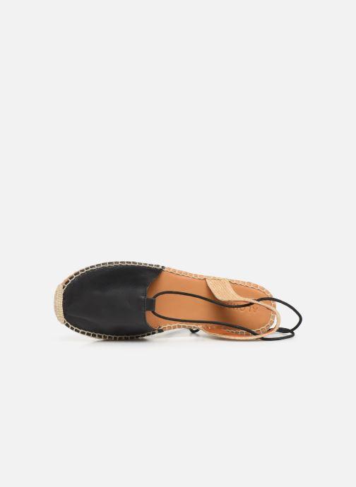 Sandalen Alohas Sandals Cristinas Zwart links