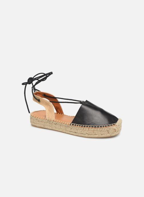 Sandalen Alohas Sandals Cristinas Zwart detail